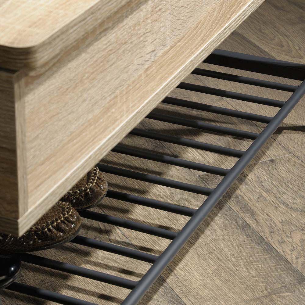 North Avenue Storage Bench - Charter Oak - Bottom Rack