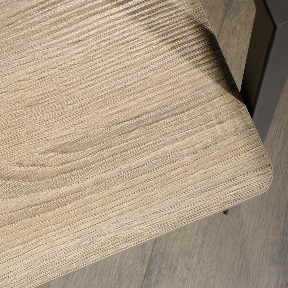 North Avenue Storage Bench - Charter Oak - Texture