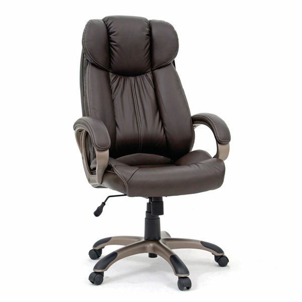 Executive Chair Leather - Brown