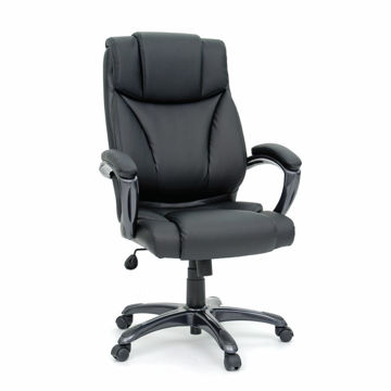 Executive Chair Leather - Black