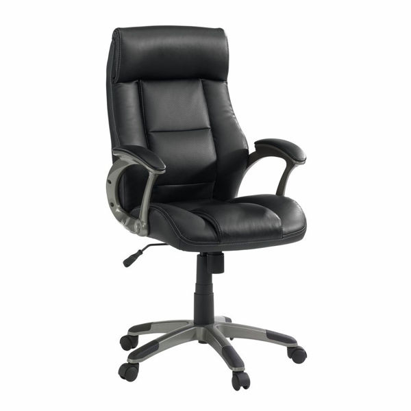 Picture of Senior Manager Leather Office Chair - Black