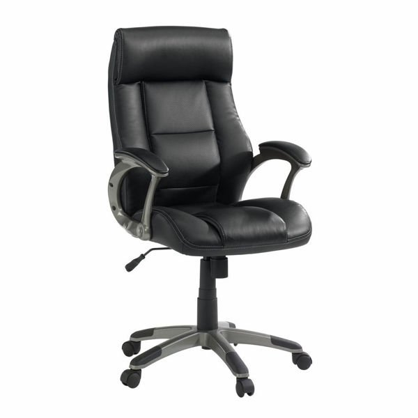 Senior Manager Chair Leather - Black