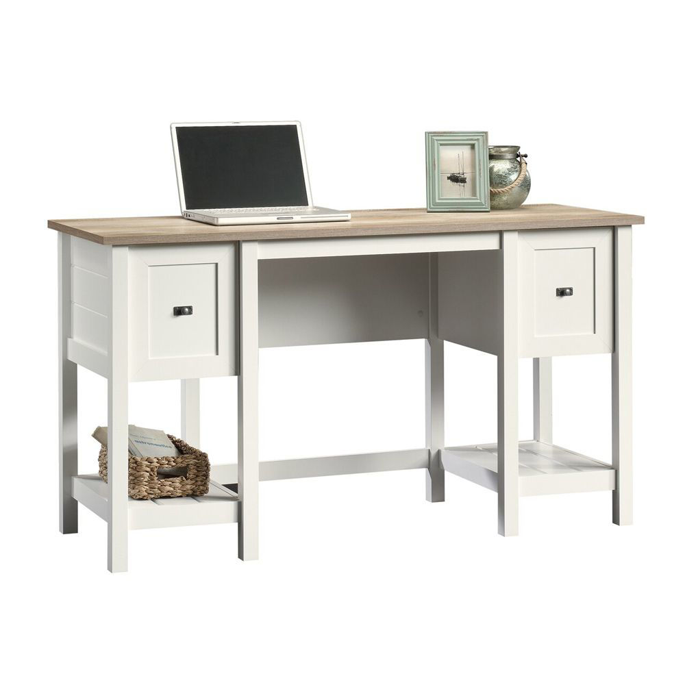 Cottage Road Desk - Soft White - Accessoires Not Included