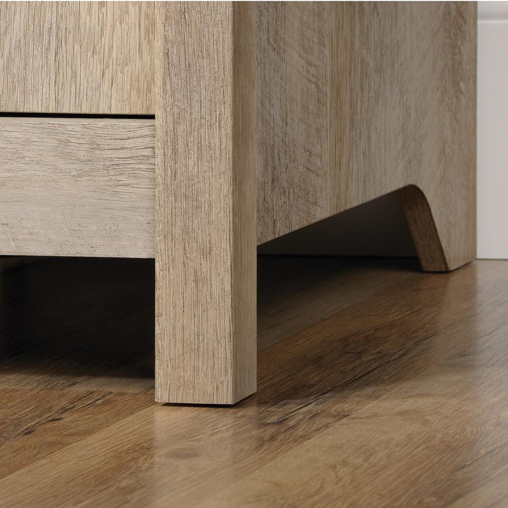 Cannery Bridge Computer Desk - Lintel Oak - Bottom Leg