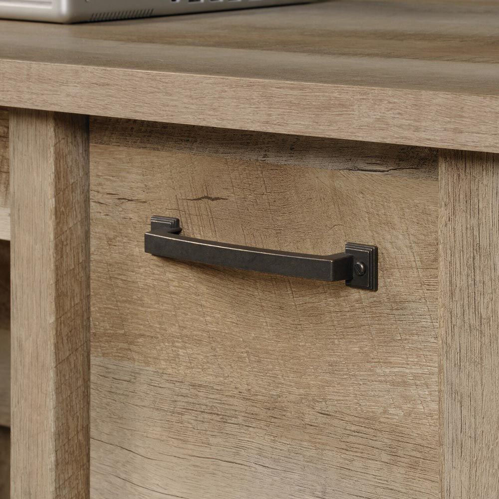 Cannery Bridge Computer Desk - Lintel Oak - Handle