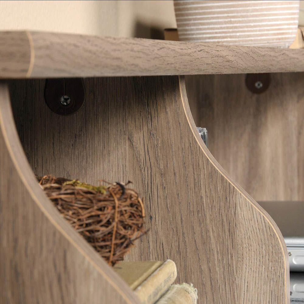 Graham Hill Desk - Salt Oak - Texture