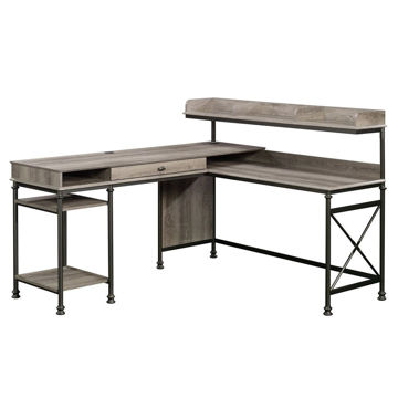 Canal Street L-Desk - Northern Oak