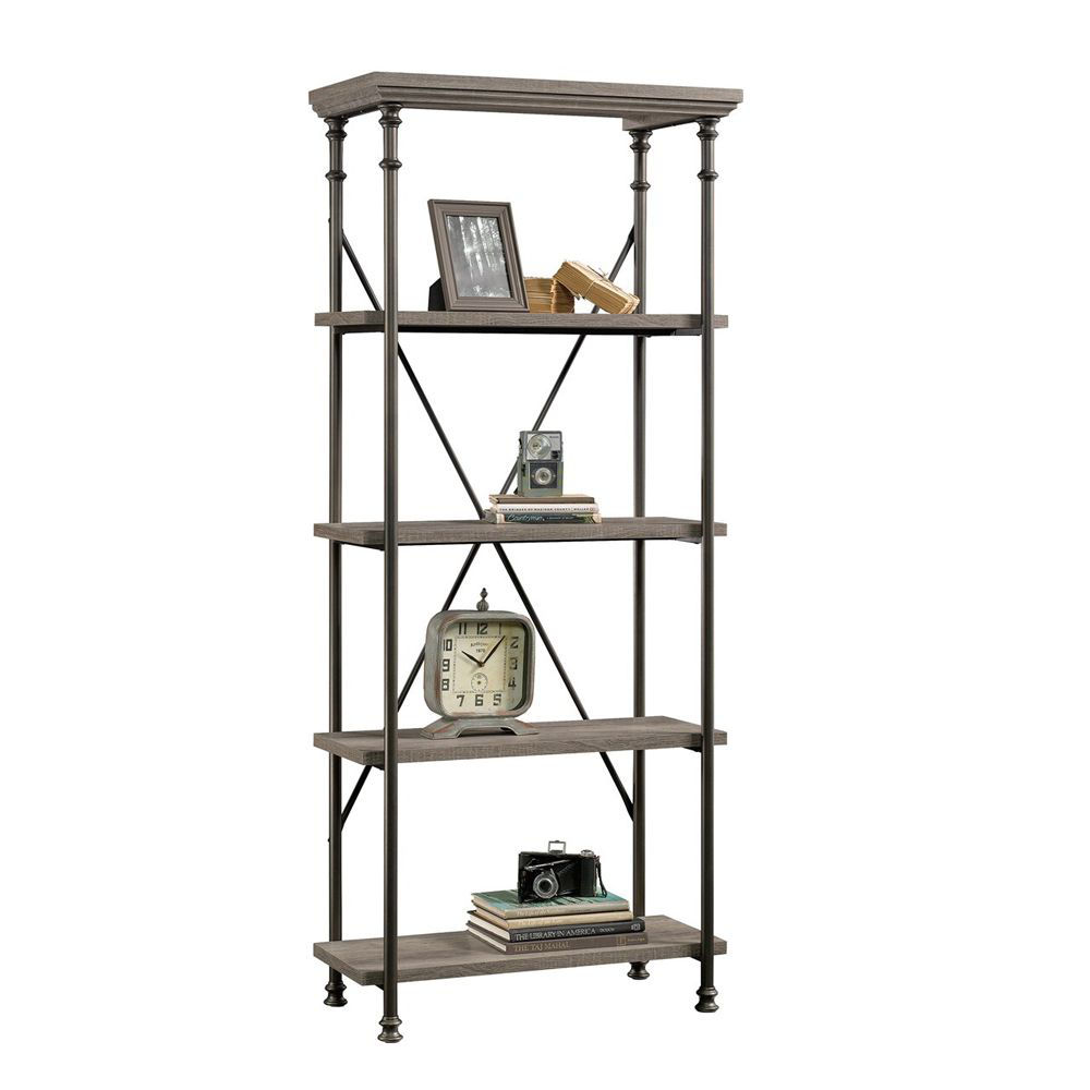 Canal Street 5-Shelf Bookcase - Northern Oak - Accessories Not Included