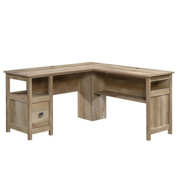 Cannery Bridge L-Desk - Lintel Oak