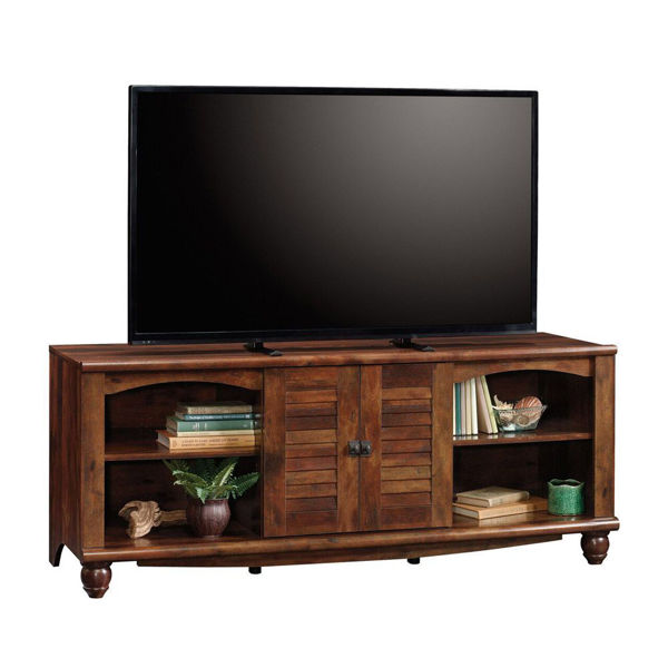Harbor View Entertainment Credenza - Curado Cherry