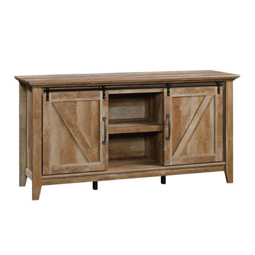 Dakota Pass Barn Door Credenza - Craftsman Oak