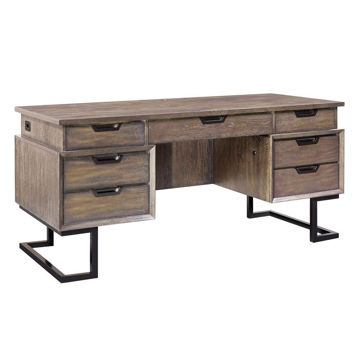 Soho Executive Desk - Fossil