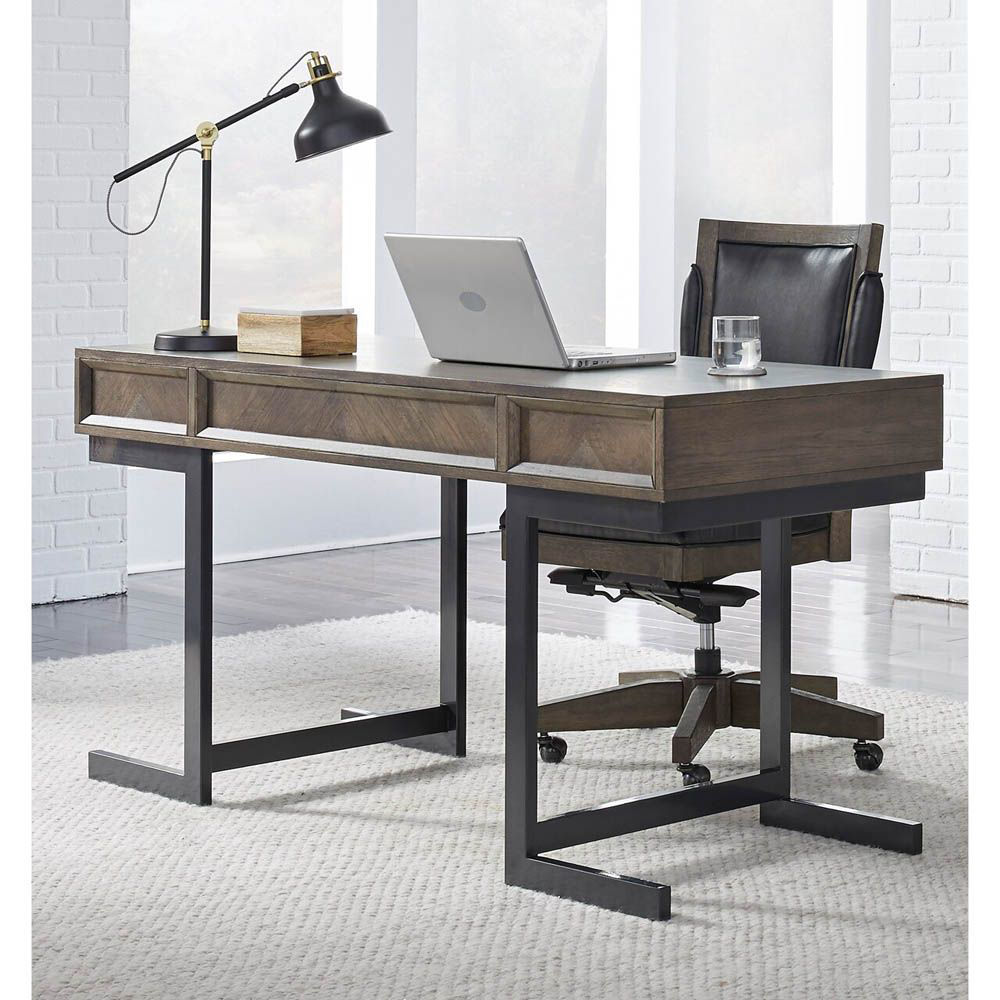 "Soho 60"" Writing Desk - Fossil - Accessories Not Included - Chair Sold Separately"