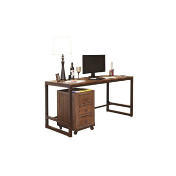 Industrial Writing Desk - Accessories Not included