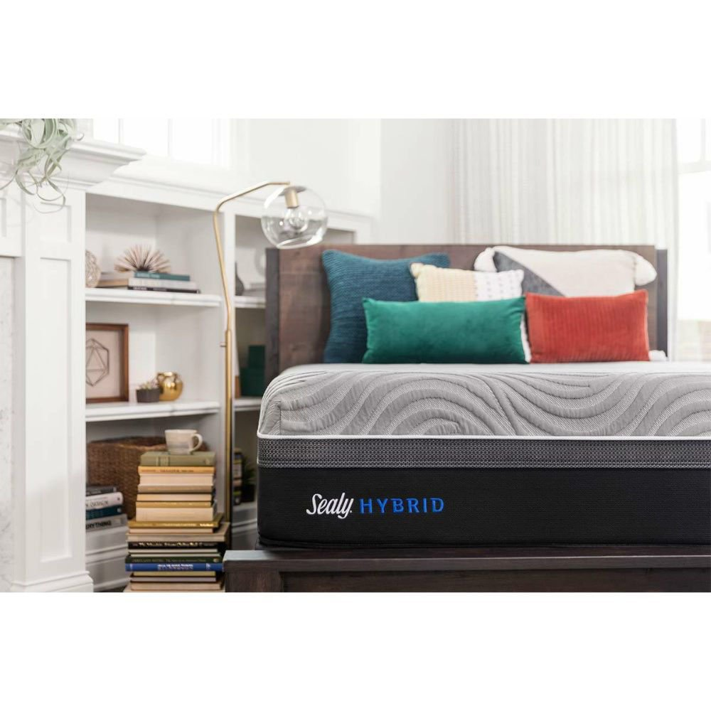 Sealy Hybrid Copper II Plush Mattress - Lifestyle