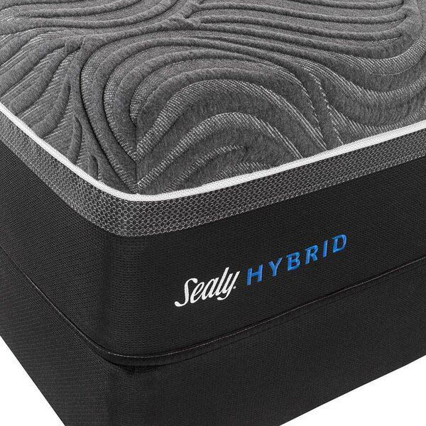Sealy Hybrid Silver Chill Firm Mattress - Foundation - Corner Detail