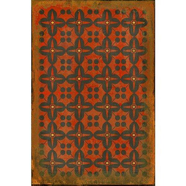 Red Rum - Vinyl Floorcloth