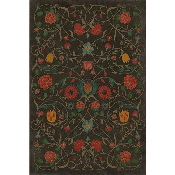 Floral Susannah - Vinyl Floorcloth