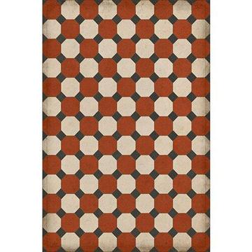 Octagons Lee - Vinyl Floorcloth