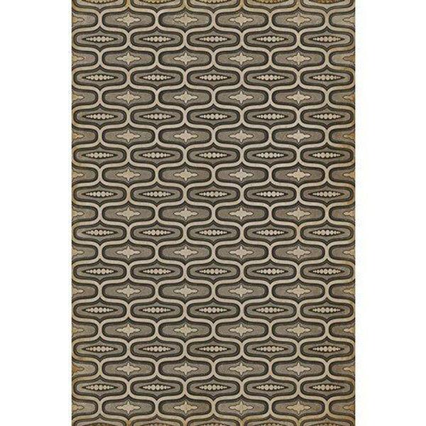 Wavy Lines Richardson - Vinyl Floorcloth