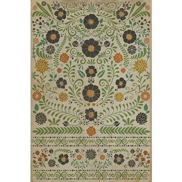 Prettiest Weeds - Vinyl Floorcloth