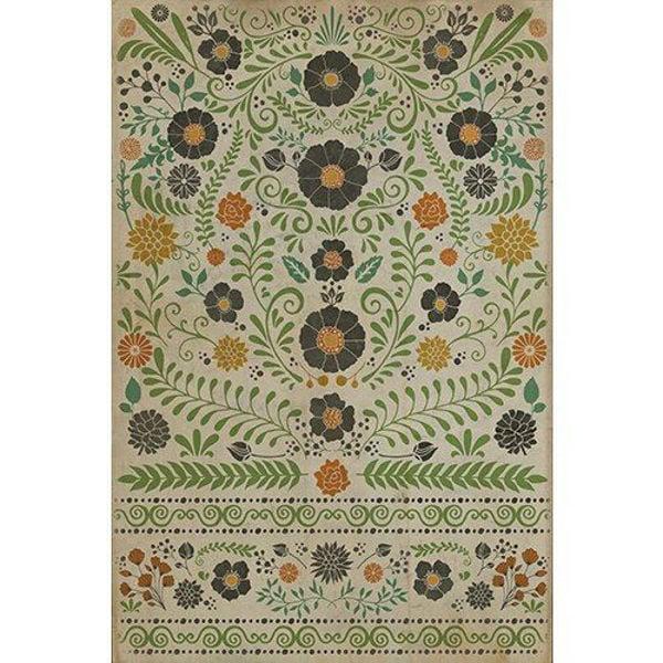 Prettiest Weeds - Vinyl Floorcloth