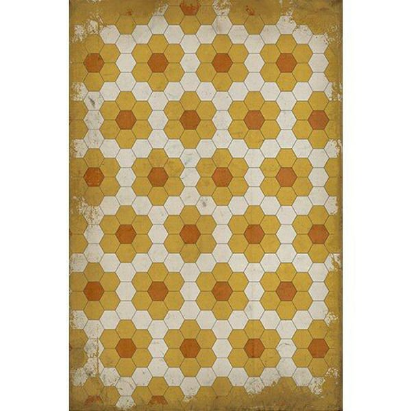 Pushing Up Daisies - Vinyl Floorcloth