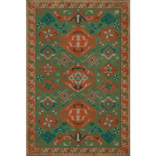 Picture of Williamsurg Mace Traditional - Vinyl Floorcloth - 70 x 102
