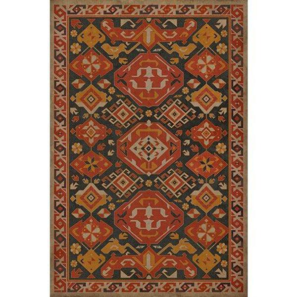 Paprika - Vinyl Floorcloth