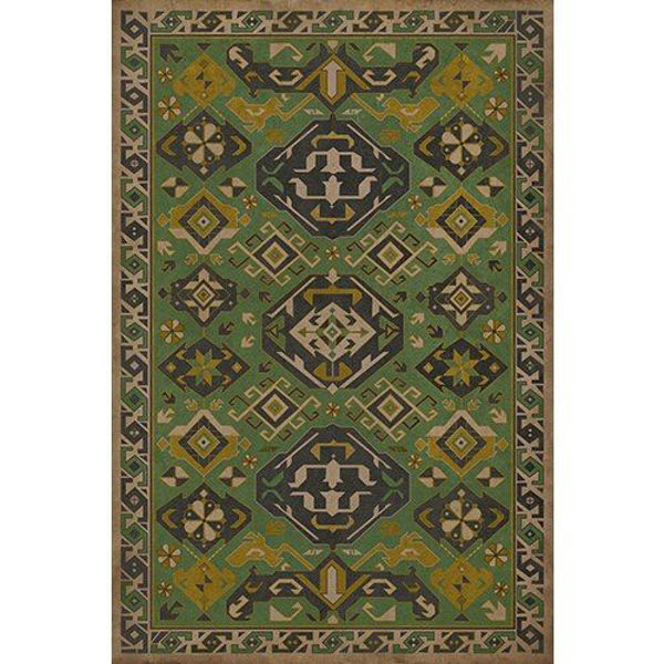 Picture of Williamsurg Sage Traditional - Vinyl Floorcloth