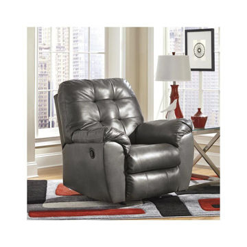 Jackson Rocker Recliner - Gray