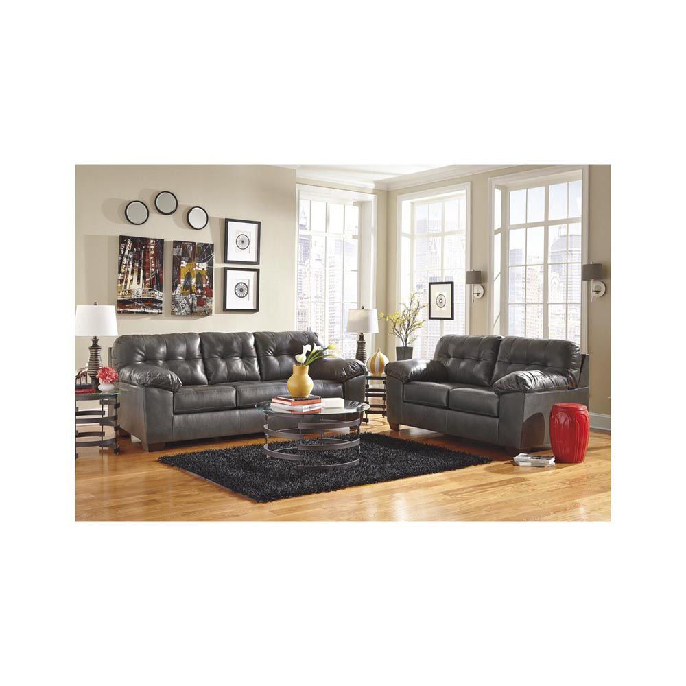 Jackson Sofa - Gray - Lifestyle Alt - Each Item Sold Separately
