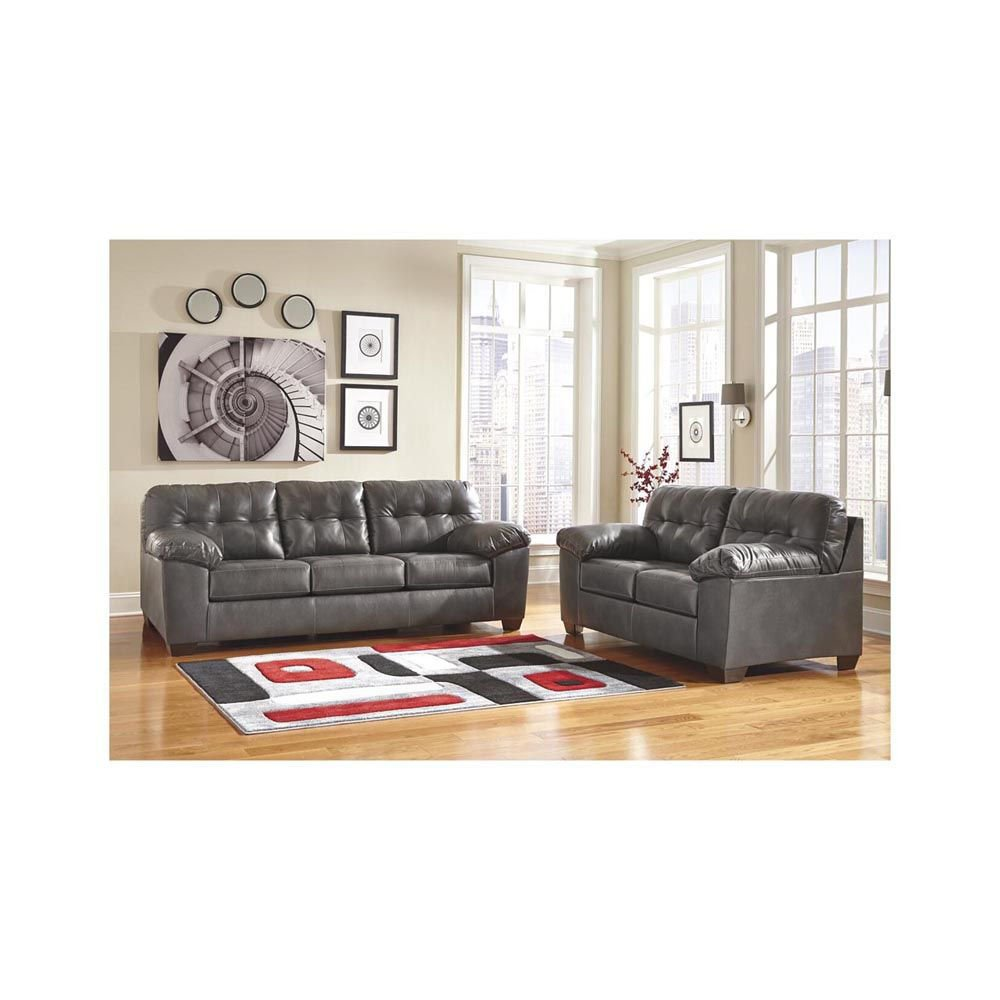 Jackson Sofa - Gray - Lifestyle Alt 2 - Each Item Sold Separately
