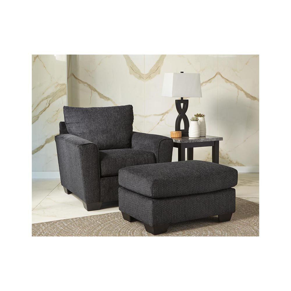 Wixon Ottoman - Slate - Each Item Sold Separately