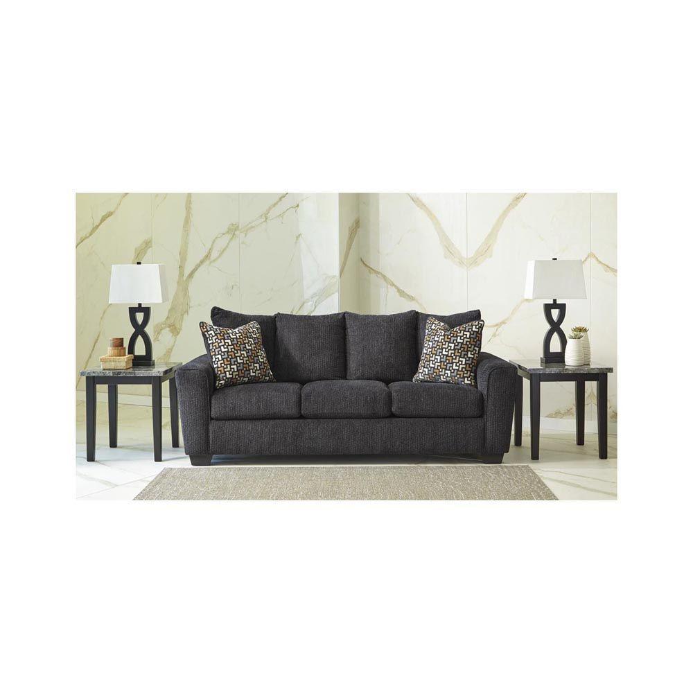 Wixon Sofa - Slate - Lifestyle