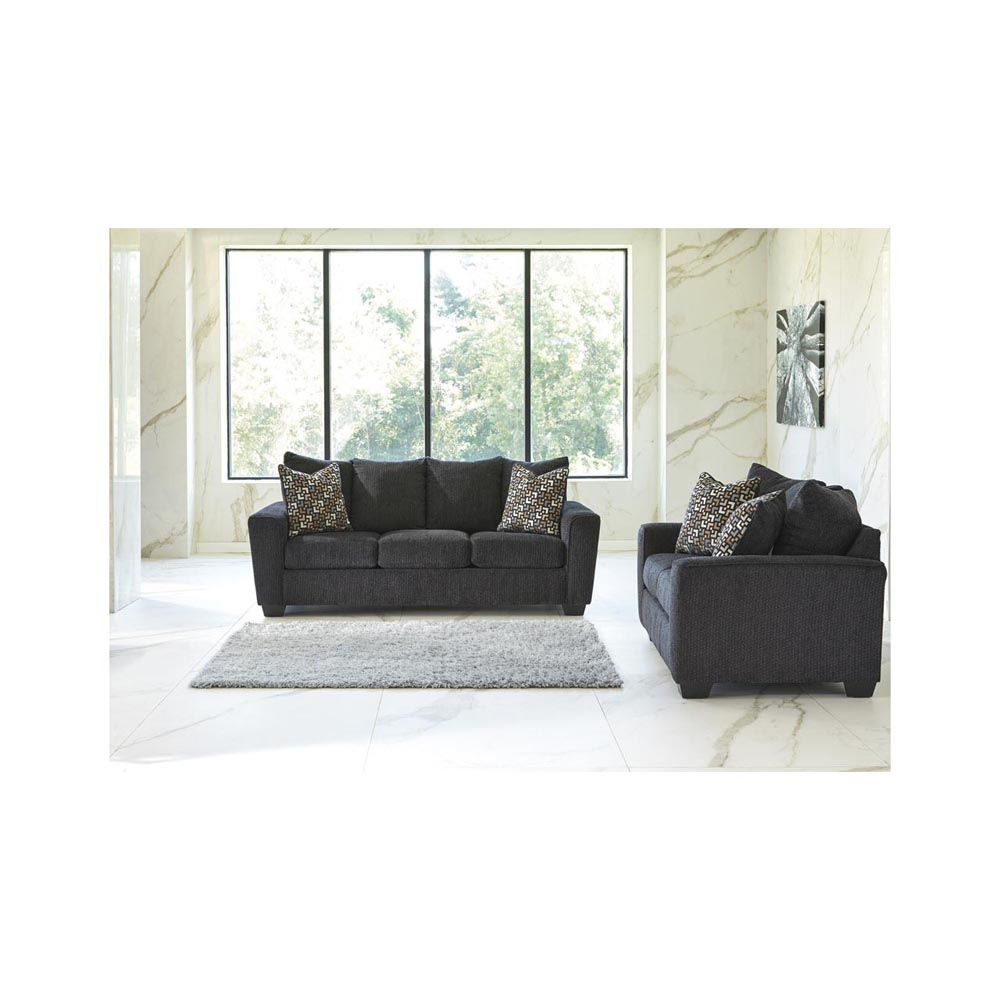 Wixon Sofa - Slate - Lifestyle - Each Item Sold Separately