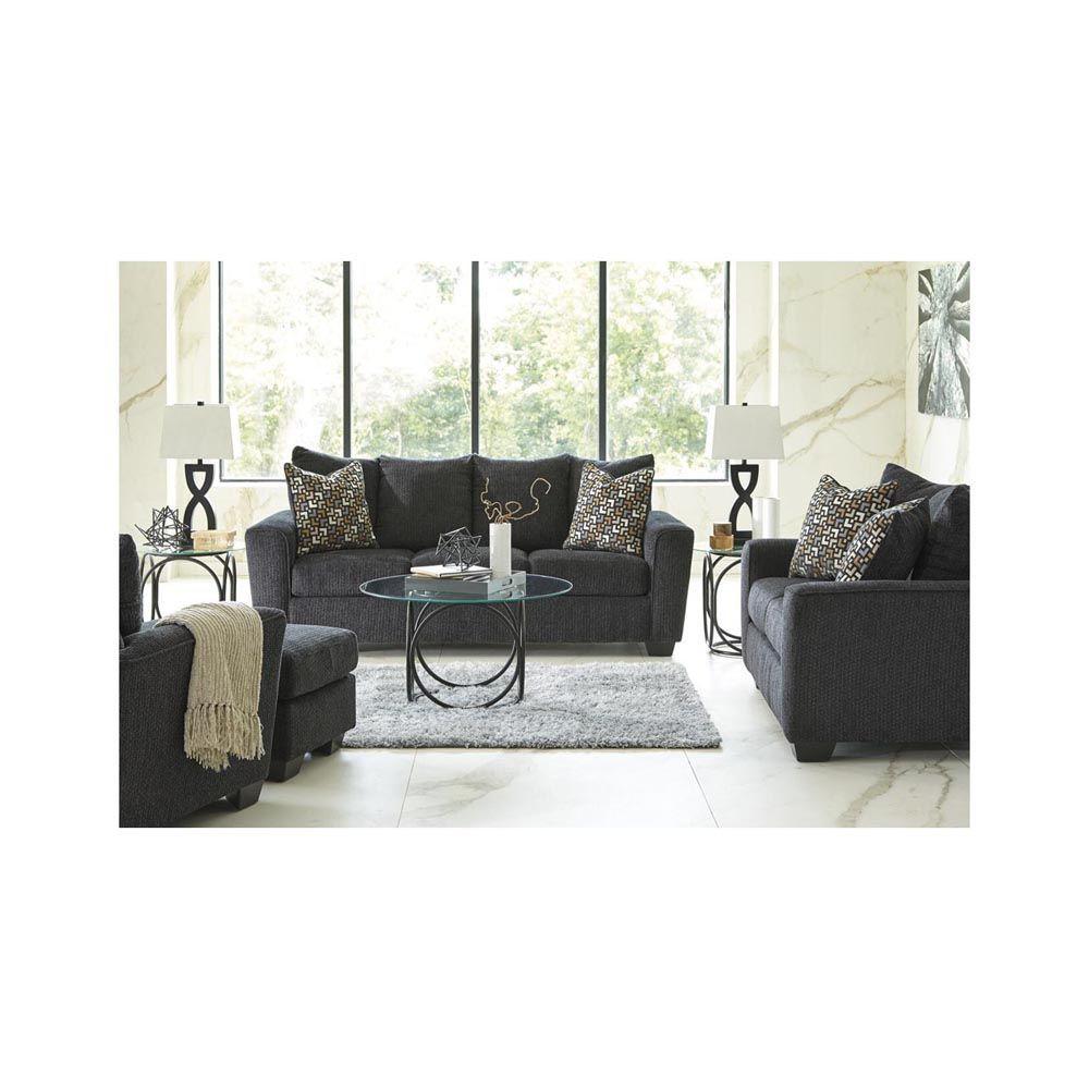 Wixon Sofa - Slate - Lifestyle Alt - Each Item Sold Separately