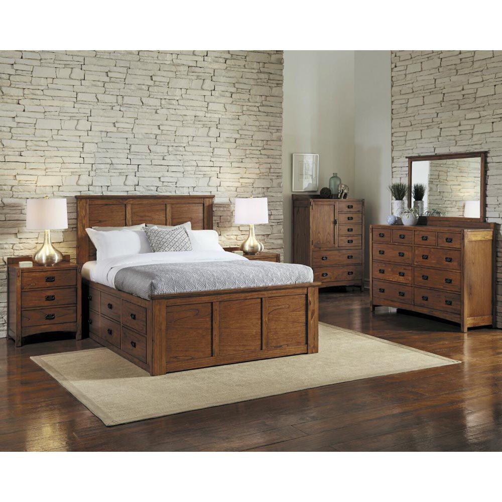 Mission Hill Bedroom Group - Each Item Sold Separately
