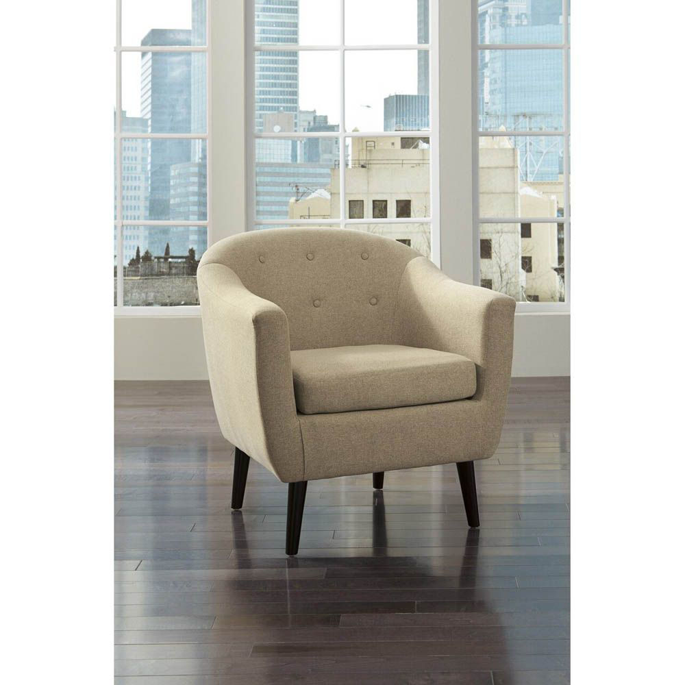 Corrie Accent Chair - Khaki - Lifestyle