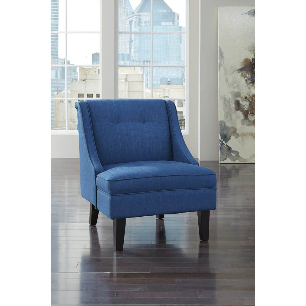 Claretta Accent Chair - Blue - Lifestyle