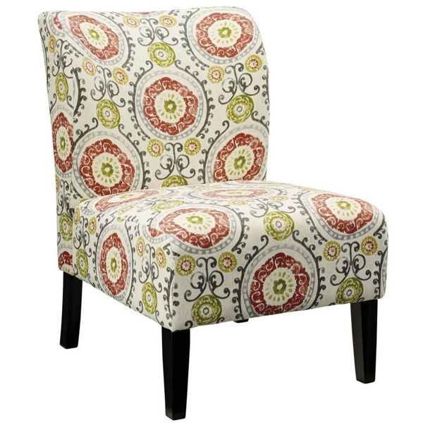 Holly Accent Chair - Floral