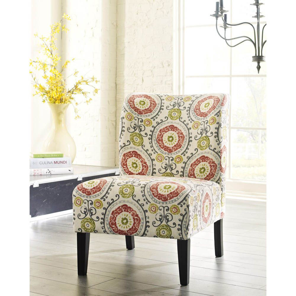 Holly Accent Chair - Floral - Lifestyle