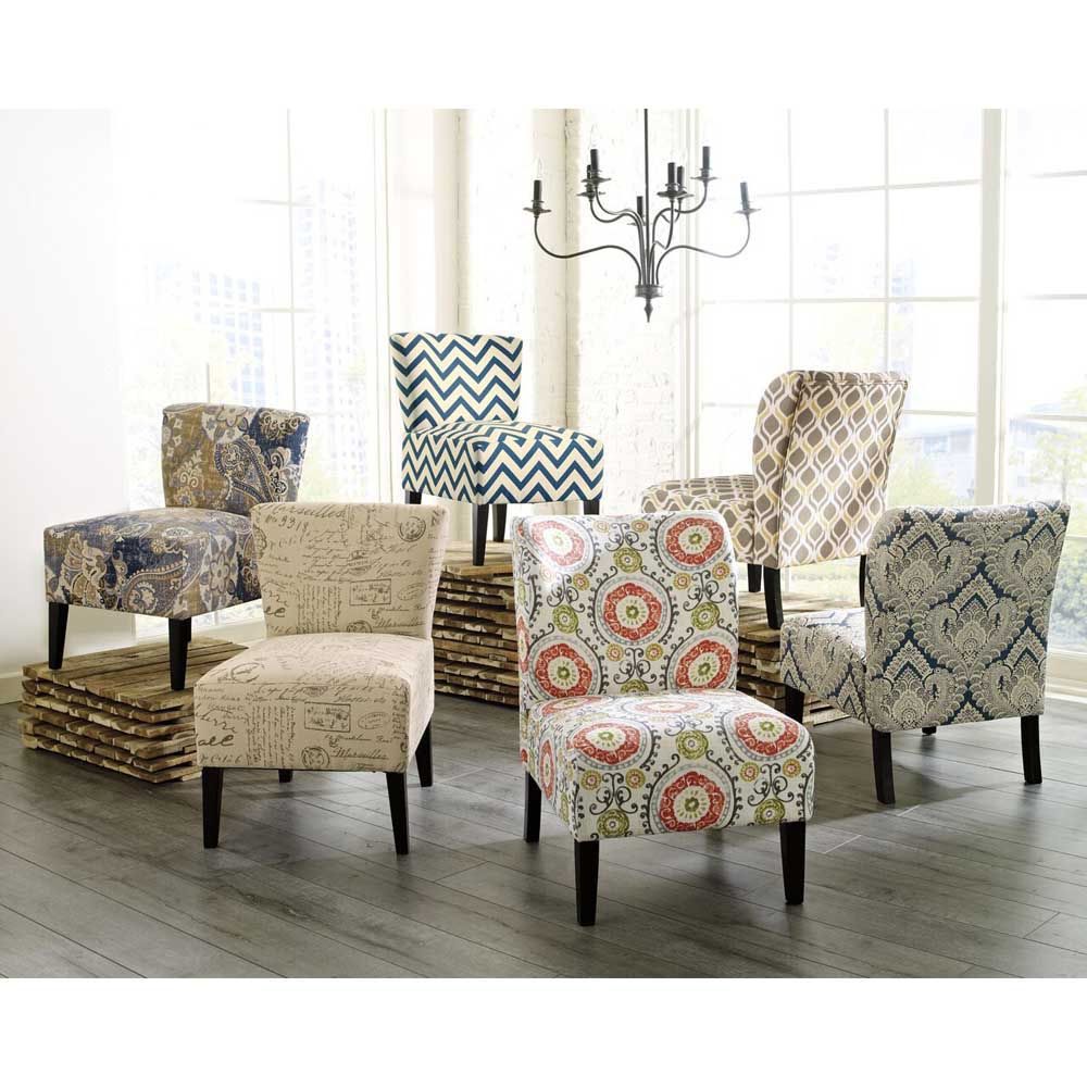 Holly Accent Chair - Floral - Each Chair Sold Separately