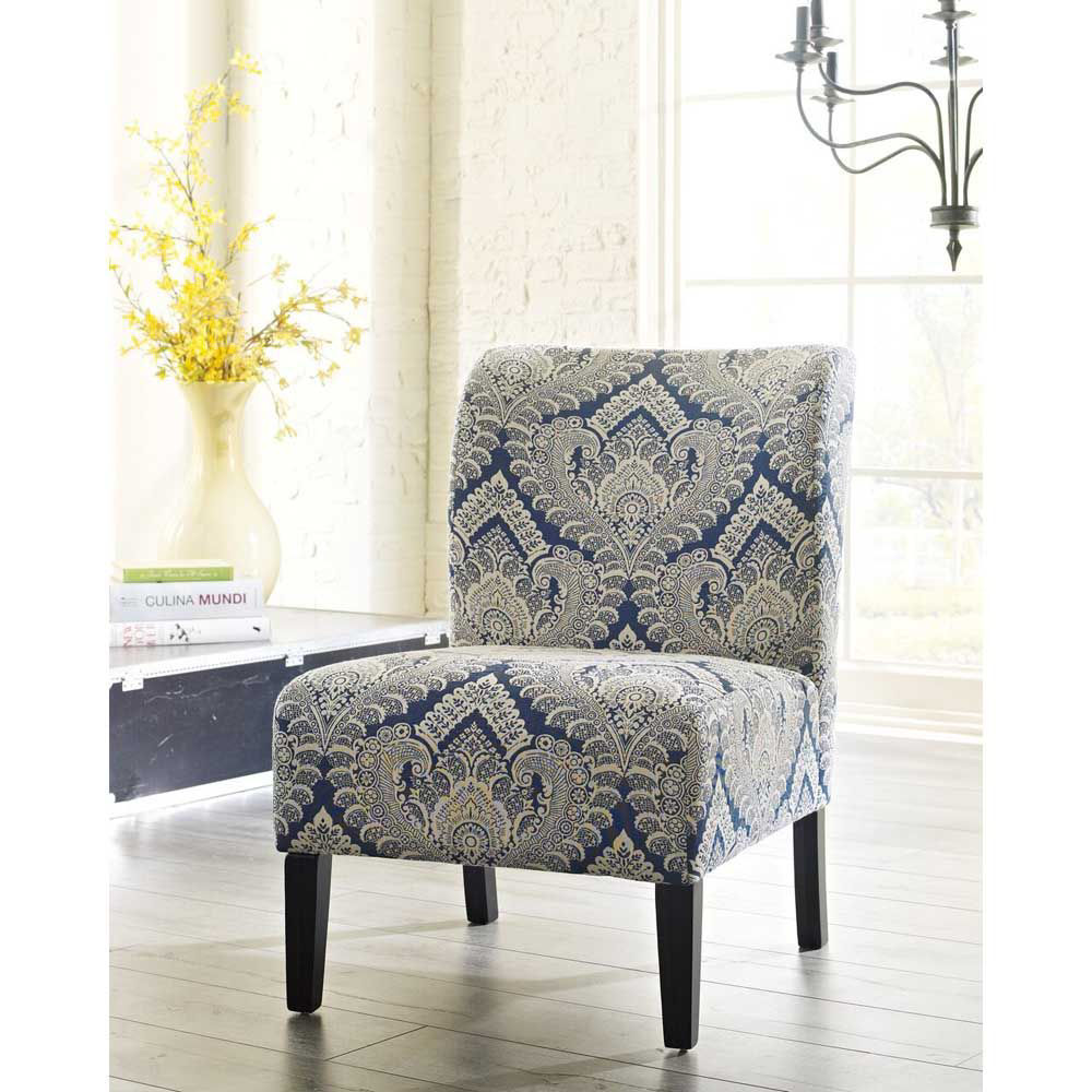 Holly Accent Chair - Sapphire - Lifestyle