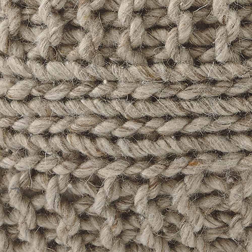 Bettina Pouf - Natural - Fabric