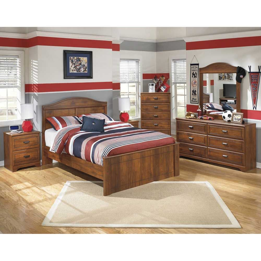 Duncan 2-Drawer Nightstand - Lifestyle - Each Item Sold Separately