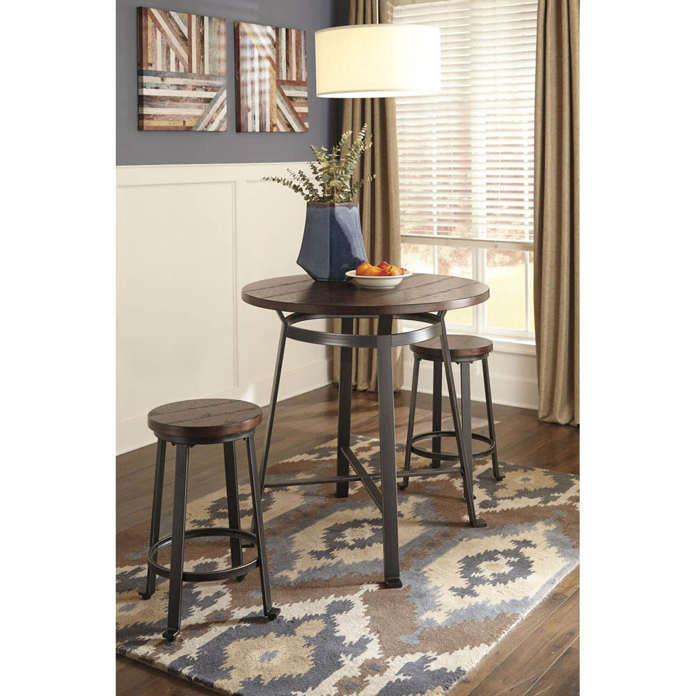 "Salomon 24"" Barstool - Set of 2 - Table Sold Separately"