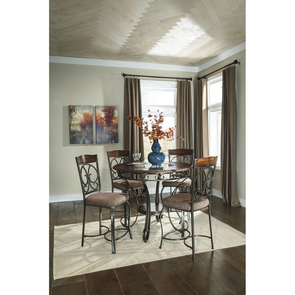 Giuliana Upholstered Barstool - Set of 4 - Table Sold Separately - Lifestyle