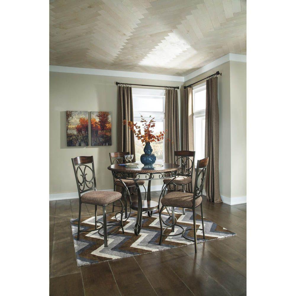 Giuliana Upholstered Barstool - Set of 4 - Table Sold Separately - Lifestyle Alt