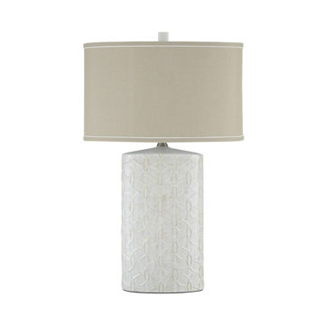Picture of Cecilia Ceramic Table Lamp - Antique White